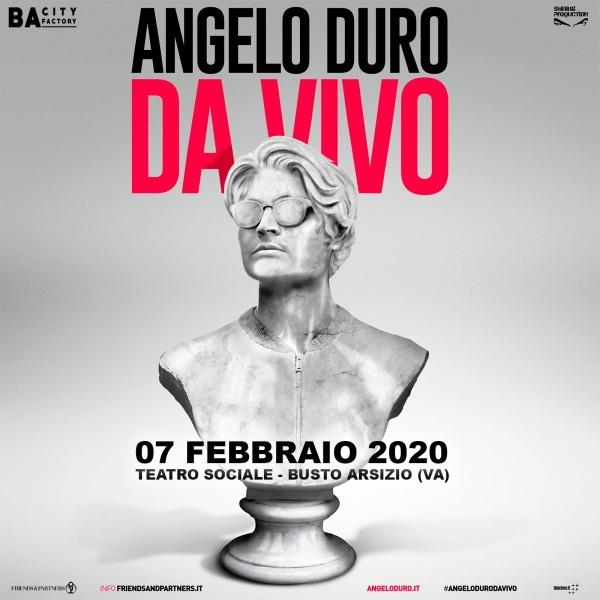 Angelo Duro – Dal vivo